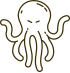black octopus icon